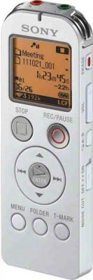 Цифровой диктофон Sony ICD-UX522 White - вид сбоку