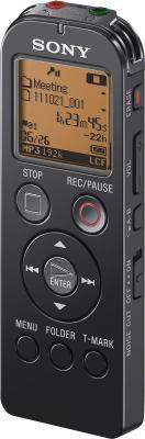 Цифровой диктофон Sony ICD-UX523 Black - общий вид