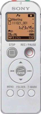 Цифровой диктофон Sony ICD-UX523 White - общий вид