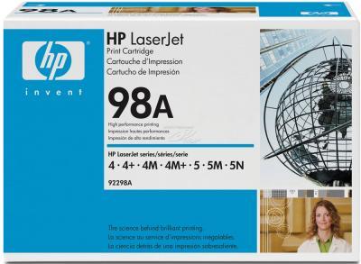Тонер-картридж HP 98A (92298A) - общий вид