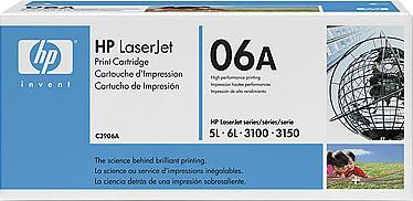 Тонер-картридж HP 06A (C3906A) - общий вид