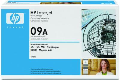 Тонер-картридж HP 09A (C3909A) - общий вид