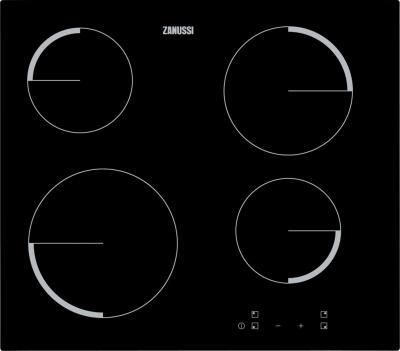 Электрическая варочная панель Zanussi ZEV 6240 FBA - общий вид