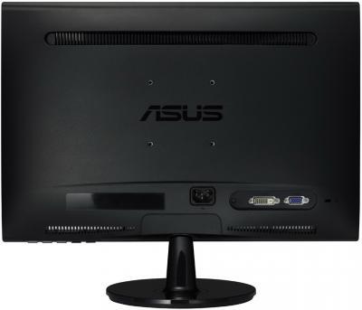 Монитор Asus VS198D - вид сзади