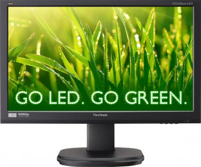 Монитор Viewsonic VG2436WM-LED - вид спереди