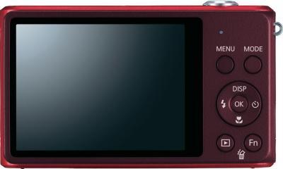 Компактный фотоаппарат Samsung ST77 (EC-ST77ZZFPRRU) Red - общий вид