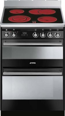 Кухонная плита Smeg SUK62CBL8 - общий вид