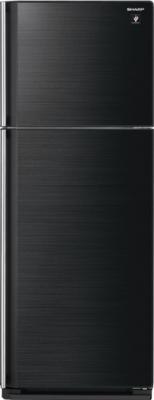 Холодильник с морозильником Sharp SJ-GC440VBK - общий вид