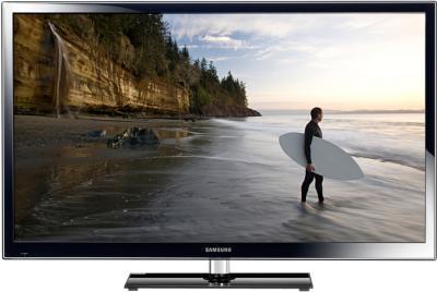 Телевизор Samsung PS51E557D1K - вид спереди