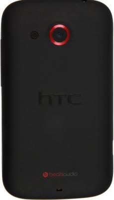 Смартфон HTC Desire C (A320e) Black - вид сзади