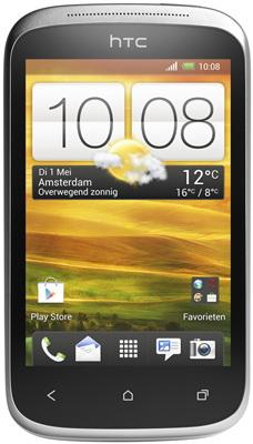 Смартфон HTC Desire C (A320e) White - общий вид