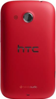 Смартфон HTC Desire C (A320e) Red - вид сзади