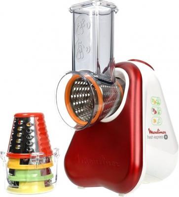 Овощерезка электрическая Moulinex Fresh Express + (DJ756G35) - с комплектом насадок