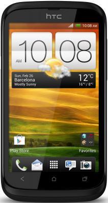 Смартфон HTC Desire V (T328w) Black - общий вид