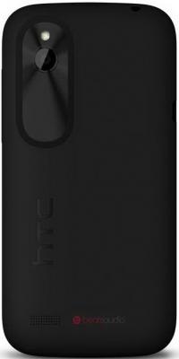 Смартфон HTC Desire V (T328w) Black - вид сзади