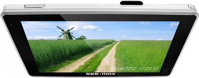 GPS навигатор SeeMax navi E540 HD DVR 8GB - вид сверху
