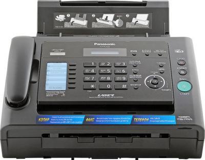 Факс Panasonic KX-FL423 Black - вид спереди