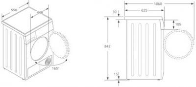Сушильная машина Siemens WT46W561OE - схема