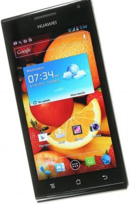Смартфон Huawei Ascend P1 (U9200) Black - общий вид