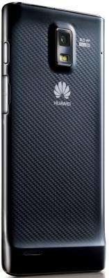 Смартфон Huawei Ascend P1 (U9200) Black - вид сзади