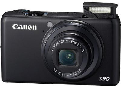 Компактный фотоаппарат Canon PowerShot S90 - общий вид
