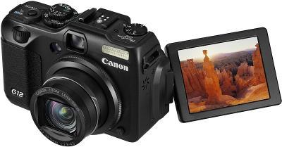 Компактный фотоаппарат Canon PowerShot G12 - общий вид