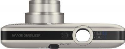 Компактный фотоаппарат Canon Digital IXUS 100 IS (PowerShot SD780 IS) Silver - вид сверху