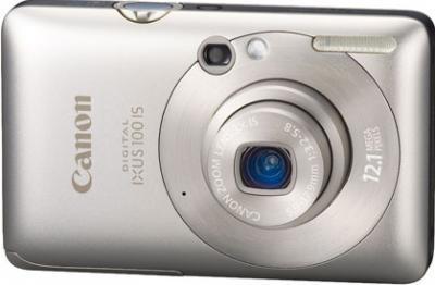 Компактный фотоаппарат Canon Digital IXUS 100 IS (PowerShot SD780 IS) Silver - общий вид