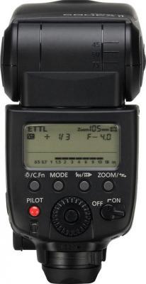 Вспышка Canon Speedlite 580EX II - вид сзади