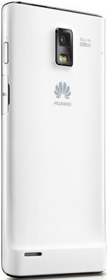 Смартфон Huawei Ascend P1 (U9200) White - вид сзади