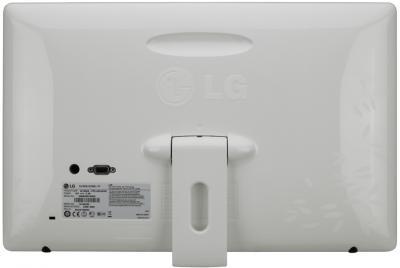 Монитор LG W2230S-NF - вид сзади