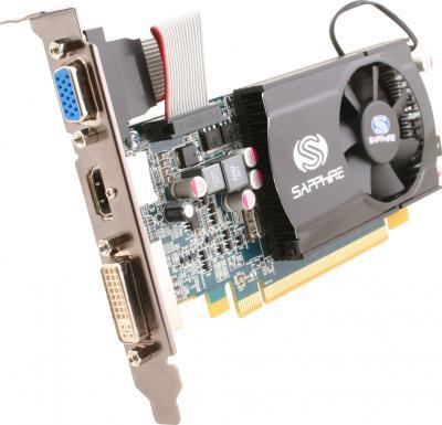 Видеокарта Sapphire HD 5570 1024MB DDR3 (11167-00-10R) - общий вид
