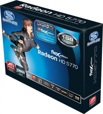 Видеокарта Sapphire HD 5770 1024MB GDRR5 (11163-02-20R) - коробка