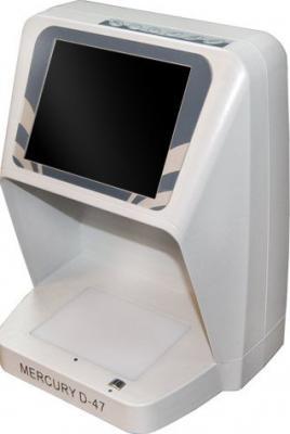 Детектор валют Mercury D-47 UNIVERSUM - общий вид