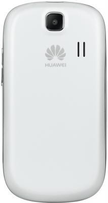 Смартфон Huawei Ascend Y100 (U8185) White - вид сзади