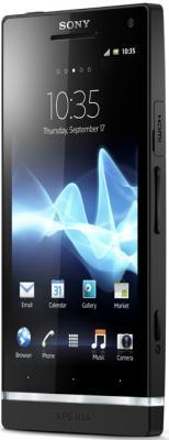 Смартфон Sony Xperia S (LT26i) Black - общий вид