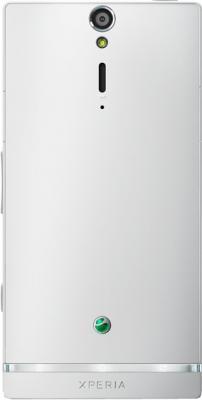 Смартфон Sony Xperia S (LT26i) White - задняя панель