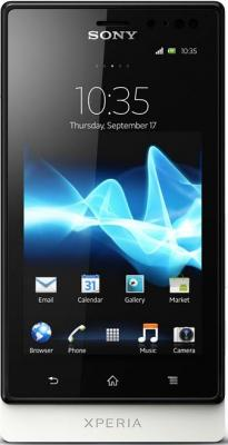 Смартфон Sony Xperia Sola (MT27i) White - общий вид