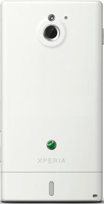 Смартфон Sony Xperia Sola (MT27i) White - вид сзади