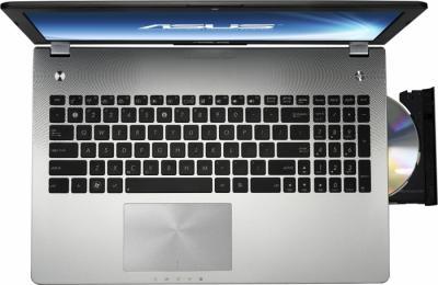 Ноутбук Asus N56VM-S3037V - вид сверху