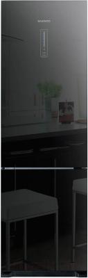Холодильник с морозильником Daewoo RN-T425NPB - общий вид