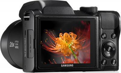 Компактный фотоаппарат Samsung WB100 (EC-WB100ZBABRU) Black - общий вид