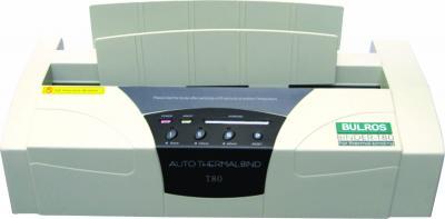 Термопереплетчик Bulros T80 - общий вид