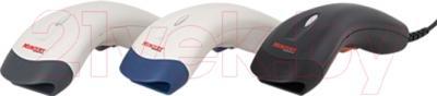 Сканер штрих-кода Mercury 6061PL FOTON - представлен в трех цветовых исполнениях: белый с серыми элементами, белый с синими элементами, черный с красными элементами/цвет уточняйте при заказе
