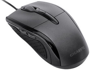 Мышь Gigabyte GM-GM6580V2 Black - общий вид