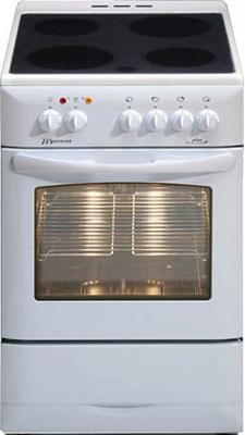 Кухонная плита MasterCook КС 2430 W  - общий вид