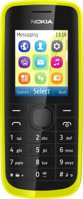 Мобильный телефон Nokia 113 Green - общий вид