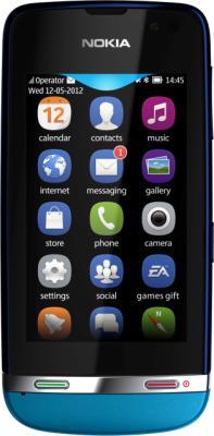 Мобильный телефон Nokia Asha 311 Blue - общий вид