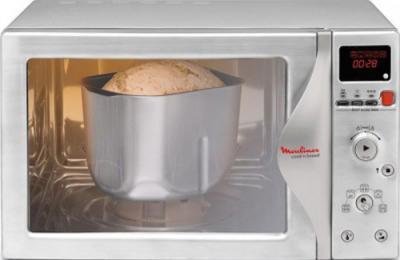 Микроволновая печь Moulinex MW700131 Silver - общий вид