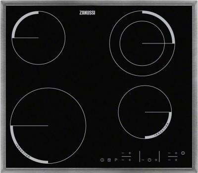 Комбинированная варочная панель Zanussi ZEN6641XBA - общий вид